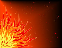 Flaming Stock Photo