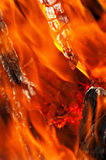 Flaming background Royalty Free Stock Photo
