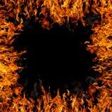 Flaming Border Stock Image