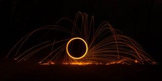 Flaming Circle 2 Stock Images