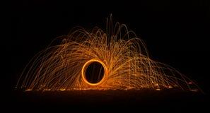 Flaming Circle 1 Stock Photography