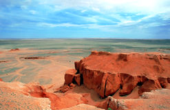 Flaming Cliffs stock photo