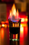 Flaming Cocktail Stock Images
