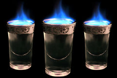 Free Flaming Drinks Royalty Free Stock Photo - 1564415
