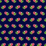 Flaming - emoji wzór 80 royalty ilustracja