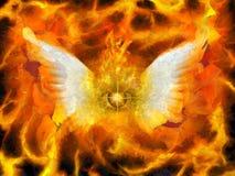 Flaming Eye of God Royalty Free Stock Photo