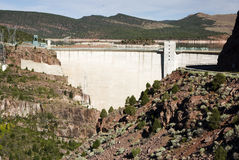 Flaming Gorge Dam Royalty Free Stock Images