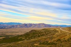 Flaming Gorge - Green River Basin Scenic Byway Stock Photo