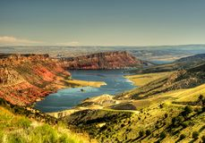 Flaming Gorge HDR Stock Images