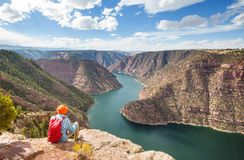 Flaming Gorge royalty free stock photos