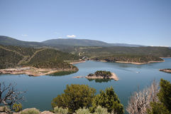 Flaming Gorge Lake Stock Images