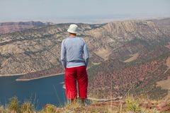Flaming Gorge Stock Photo