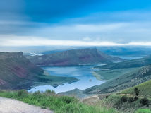 Flaming Gorge National Recreation Stock Image