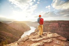 Flaming Gorge. Recreation area royalty free stock photo