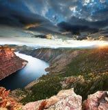 Flaming Gorge Stock Photo