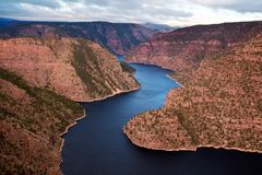 Flaming Gorge. Recreation area royalty free stock images