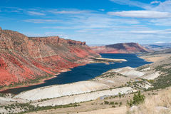 Flaming Gorge Reservoir stock image