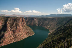 Flaming Gorge Stock Photography