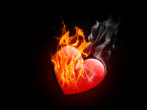 burning love Stock Photo