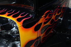 Flaming Hotrod Stock Images