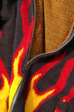 Flaming Jacket Royalty Free Stock Photo