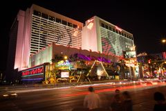 Flaminga hotel i kasyno, Las Vegas Zdjęcia Royalty Free