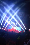 The Flaming Lips - True Music Festival - Scottsdale, AZ USA. Wayne Coyne and The Flaming Lips performing live at the True Music Festival at the Salt River Fields Royalty Free Stock Image