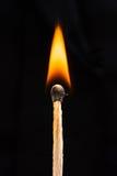 flaming matching Stock Image