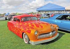 Flaming Mercury Royalty Free Stock Image