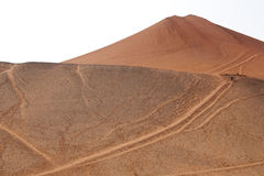 Flaming Mountains,China Royalty Free Stock Images