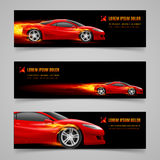 Flaming speed Royalty Free Stock Images