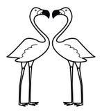 Flaminggo. Illustrator desain .eps 10 Royalty Free Stock Images