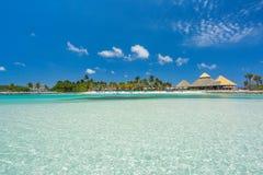 Flamingo beach at Aruba island. Flamingo beach at Aruba. Renaissance Aruba Private Island Stock Photography