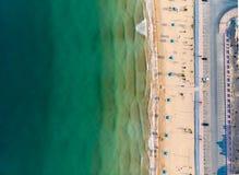 Free Flamingo Beach In Ras Al Khaimah, UAE Aerial View Stock Photo - 142193940