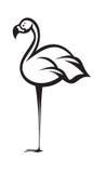 Flamingo cartoon Royalty Free Stock Photo