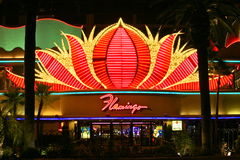 The Flamingo casino Stock Photo