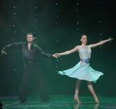 Flamingo dance-the Austria's world Dance Stock Photos