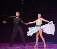 Flamingo dance-the Austria's world Dance Stock Image