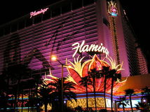The Flamingo Hotel and Casino in  Las Vegas Nevada Stock Photography