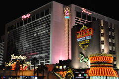 Flamingo Hotel in Las Vegas Stock Image