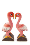 Flamingo love Stock Photography