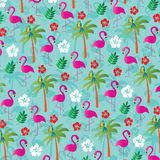 Flamingo pattern Royalty Free Stock Photography