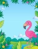 Flamingo topic image 2 Royalty Free Stock Photography