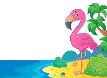 Flamingo topic image 6 Royalty Free Stock Images