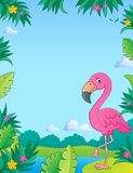 Flamingo topic image 2 Royalty Free Stock Photography