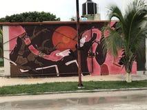 Flamingohaus Lizenzfreie Stockbilder