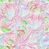 Flamingomodell Sommarvattenfärgbakgrund Fotografering för Bildbyråer