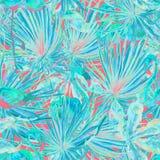 Flamingomodell Sommarvattenfärgbakgrund Arkivbilder