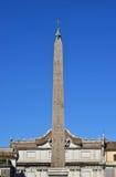 Flaminio Obelisk a Roma Fotografia Stock Libera da Diritti