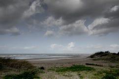 Flamländsk kust Oostduinkerke Royaltyfri Bild